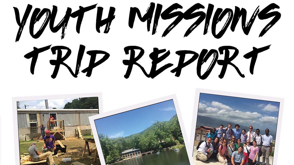 Youth Mission Trip Report